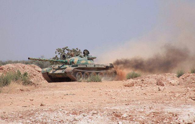 Syryjskie siły rządowe; zdjęcie archiwalne