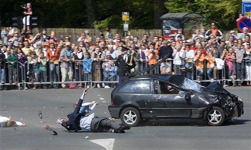 Masakra podczas święta - zdjęcia z Holandii