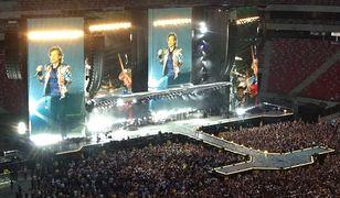 Mick Jagger na scenie nie ma sobie równych