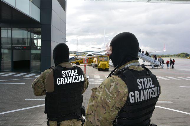 Awantura w samolocie. Akcja służb w Gdańsku