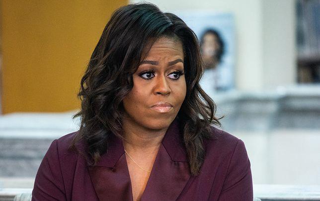 Michelle Obama z niepokojem śledzi inforamcje