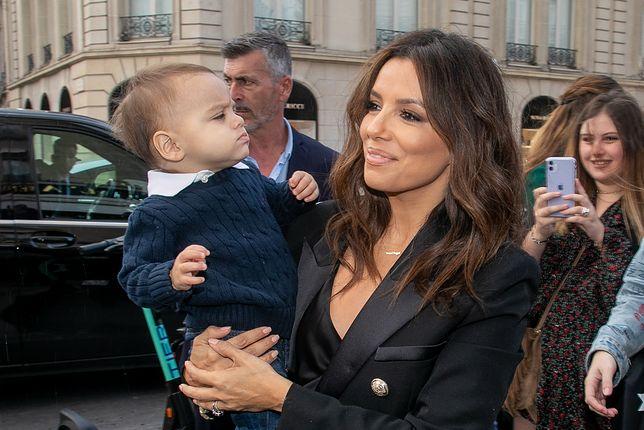 Eva Longoria miała 43 lat, gdy urodziła pierwszego synka