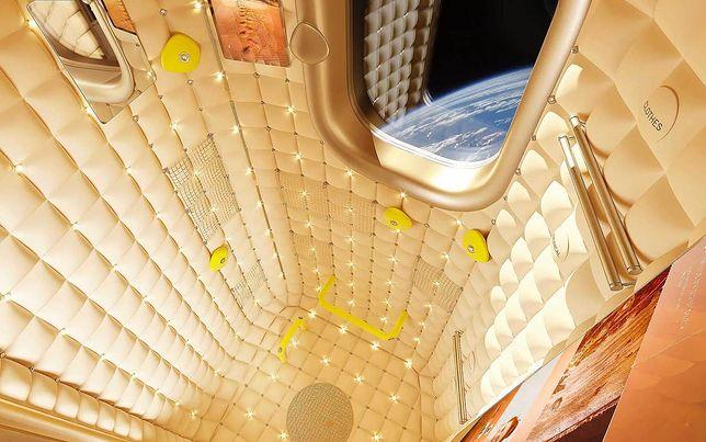 Hotel na Międzynarodowej Stacji Kosmicznej - wizualizacja