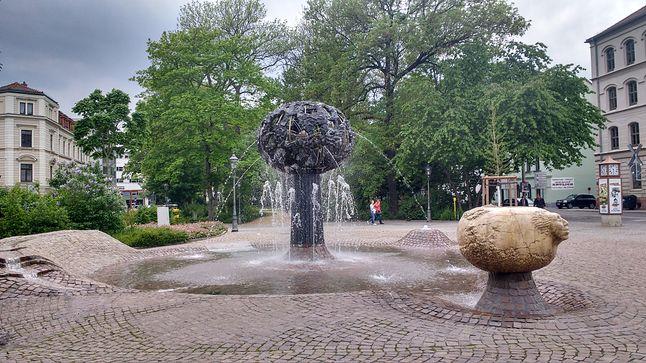 rynek - fontanna