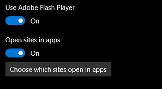 Apps for websites