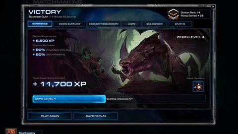 Od następnej łatki w StarCraft 2 będzie można zdobywać poziomy