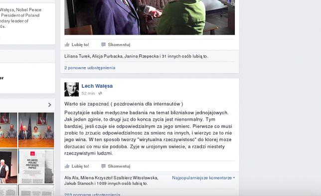 """Lech Wałęsa ostro o Jarosławie Kaczyńskim. """"Żyje w urojonym świecie, a rządzi niestety rzeczywistymi ludźmi"""""""