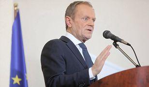 Donald Tusk napisał o Mateuszu Morawieckim, Radosław Fogiel skomentował. Wymiana złośliwości na Twitterze