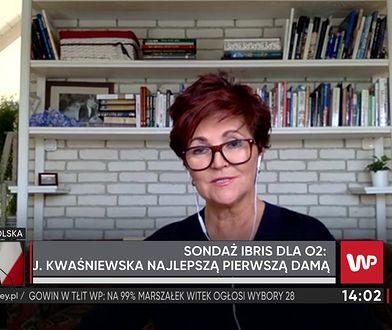 Jolanta Kwaśniewska: przez lata budowałam swoją samodzielną pozycję