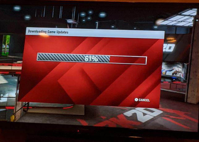Gracze zobaczą ekran aktualizacji podczas próby rozgrywki na Google Stadia w NBA 2K