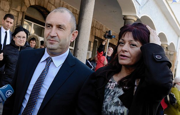Gen. Rumen Radew z żoną