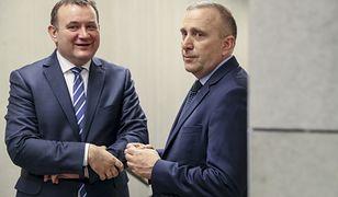 Stanisław Gawłowski i Grzegorz Schetyna