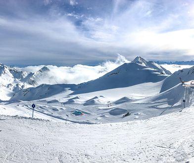 Największy teren narciarski na lodowcu w całej Austrii