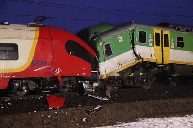 W Wesołej zderzyły się pociągi!