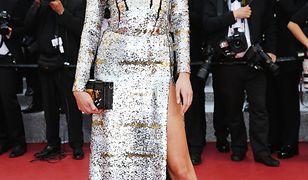 Karlie Kloss błyszczała w Cannes. Dosłownie!