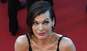 Milla Jovovich w Cannes: co się stało z jej sylwetką?