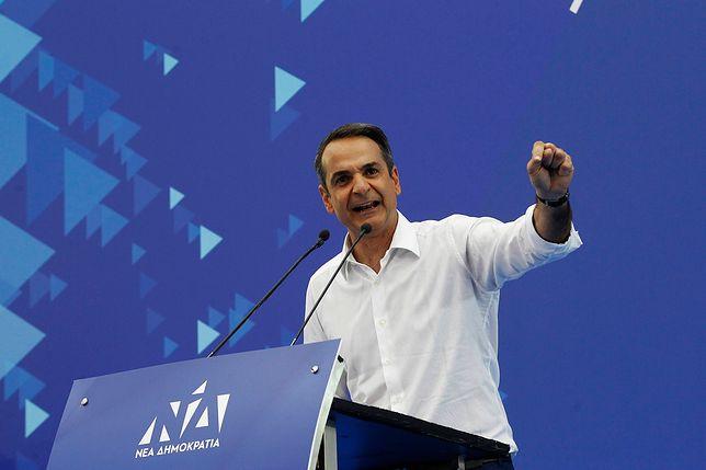Greccy konserwatyści idą po władzę. Mają znaczną przewagę nad rządzącą partią