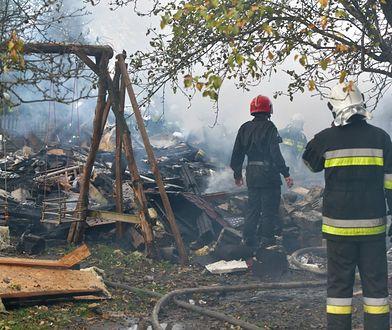 Wybuch gazu w Janówce pod Łodzią. Strażacy odnaleźli dwa ciała