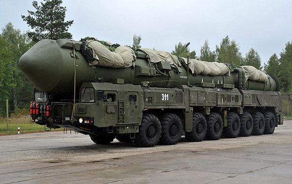 Rosyjska rakieta RS-24 Jars