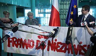 Małgorzata Gersdorf o nominacji dla Kamila Zaradkiewicza: to jest nieważne, to tylko na chwilę