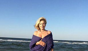 Grażyna Szapołowska uwielbia plaże