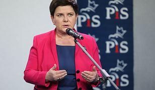 Spot wyborczy zaprezentowała wicepremier Beata Szydło