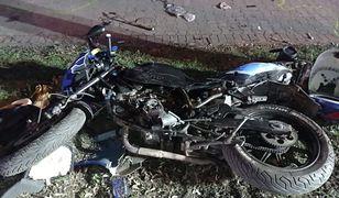 Jastrzębie Zdrój. Tragedia na drodze. Zginął pasażer jednośladu potracony przez jeepa
