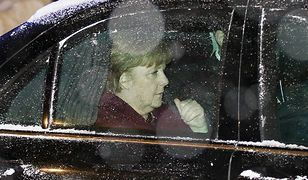 Uroczysta kolacja ostatnim punktem wizyty Merkel. Wiceszef MSZ relacjonuje