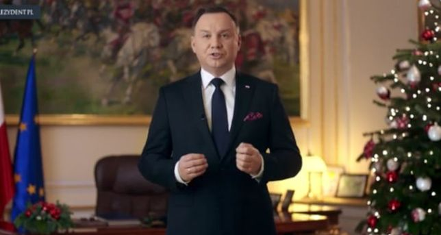 """Noworoczne orędzie prezydenta: """"Życzę pokoju, szacunku i zrozumienia"""""""