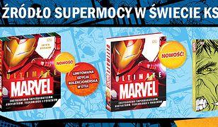 Odnajdź źródło supermocy w świecie książek Marvela