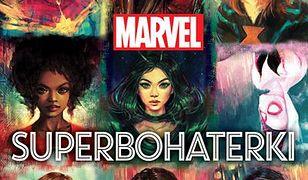 Marvel. Superbohaterki. 65 kobiet, które zmieniły losy wszechświata, wyd. Egmont 2019