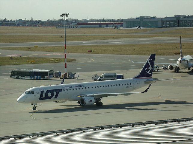 Loty do Mińska maja zostać odwołane