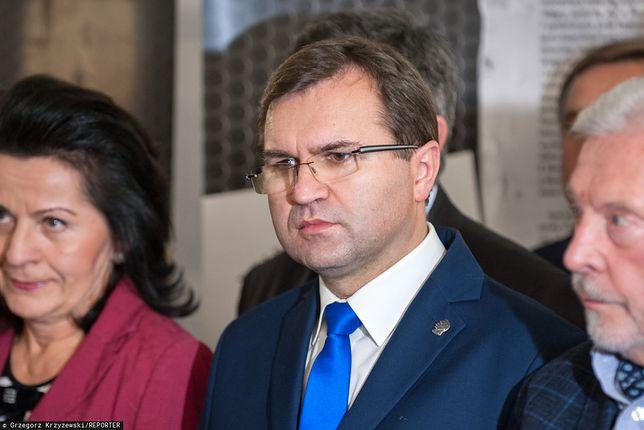 Zbigniew Girzyński z żoną Beatą mają jednego syna