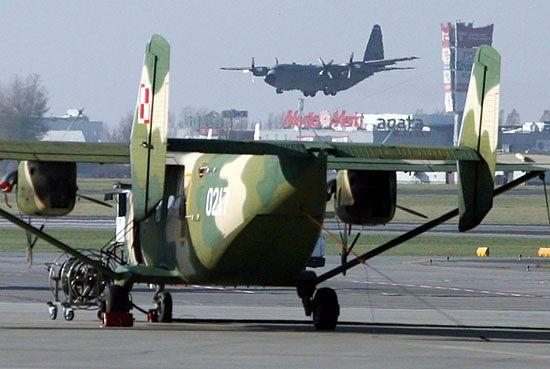 Drugi samolot C-130E już w Polsce - na razie pożyczony...