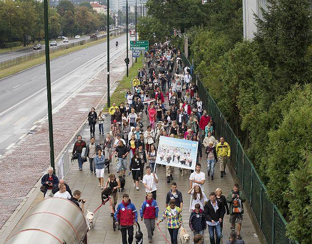 Parada psów w stolicy - zobacz zdjęcia