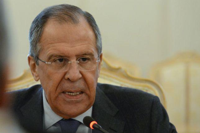 Szef MSZ Rosji: Ukraina musi być neutralna, żeby uniknąć dalszego podziału