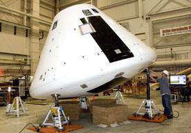 na zdjęciu: statek kosmiczny Orion