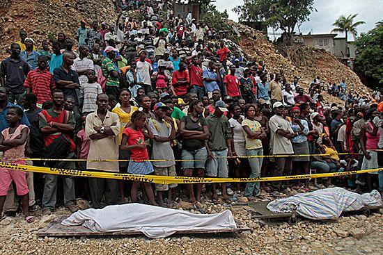 Ulewne deszcze i lawiny błotne zabijają ludzi na Haiti