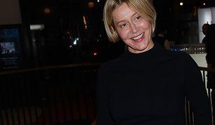 Katarzyna Warnke wysyła szpitalowi maseczki medyczne