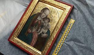 Obraz wart 100 tys. zł skradziony z kościoła. Znaleziono go w domu aukcyjnym