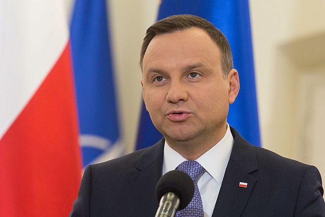 Wybory 2020. Andrzej Duda i minister infrastruktury Andrzej Adamczyk ogłaszają zmiany na kolei