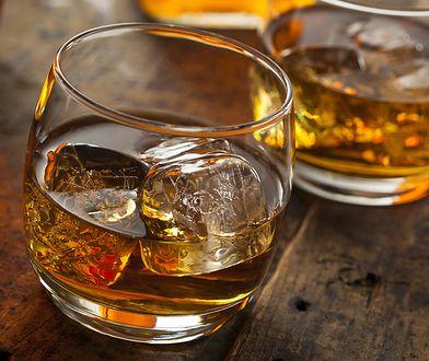 Drugie miejsce w tym zestawieniu zajęła whisky.