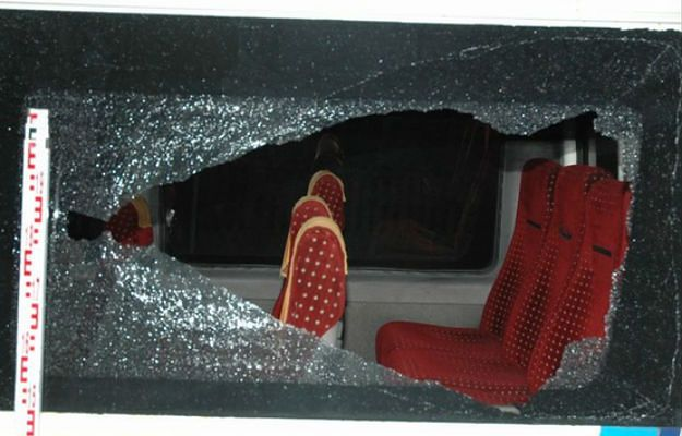 Dwaj mężczyźni ostrzelali autobusy wiozące pracowników z Wrocławia