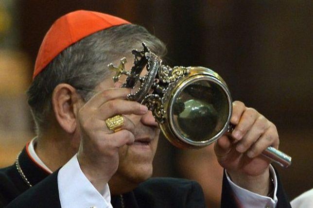 Neapol: krew świętego Januarego nie była płynna