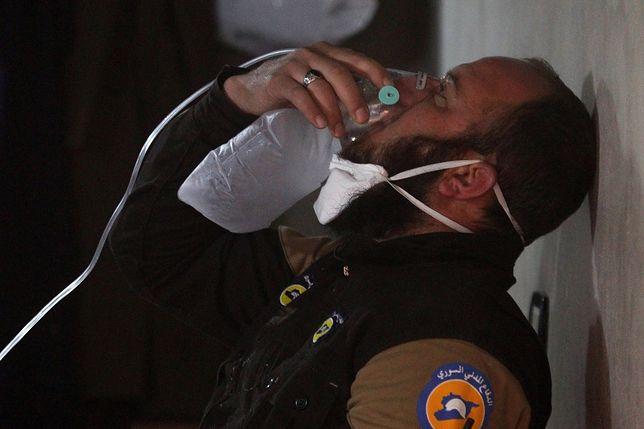 Rosja próbowała zatrzeć ślady ataku chemicznego. USA ma na to dowód