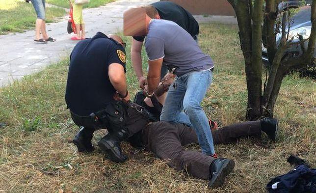 30-latek groził bronią mieszkańcom gdańskiej Żabianki