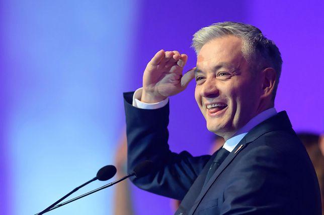 Robert Biedroń założył własną partię