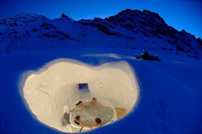 Wioska igloo - jeden z najbardziej niesamowitych hoteli na świecie