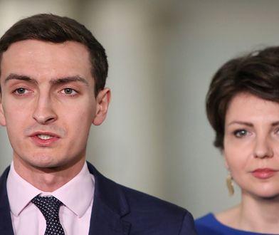 Marek Szolc i Monika Rosa z Nowoczesnej