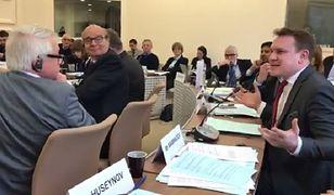 Poseł PiS wprawił dyplomatów w osłupienie. Mówił o prawie szariatu